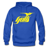 Hampton Gulls Yellow Logo Hoodie (SHL) - royal blue