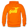 Hampton Gulls Yellow Logo Hoodie (SHL) - orange