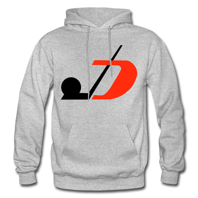 Jersey Hockey Club Logo Hoodie (EHL) - heather gray
