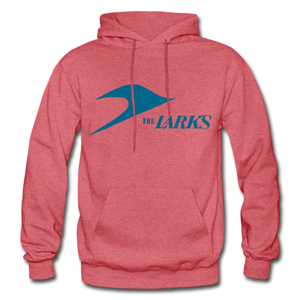 Jersey Larks Logo Hoodie (EHL) - heather red