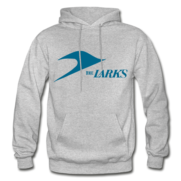 Jersey Larks Logo Hoodie (EHL) - heather gray