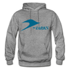 Jersey Larks Logo Hoodie (EHL) - graphite heather