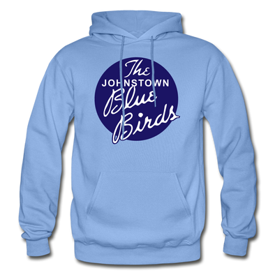 Johnstown Blue Birds Logo Hoodie (EHL) - carolina blue