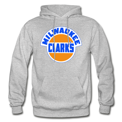 Milwaukee Clarks Logo Hoodie (EHL) - heather gray