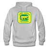 Long Island Cougars Logo Hoodie (NAHL) - heather gray