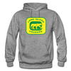 Long Island Cougars Logo Hoodie (NAHL) - graphite heather