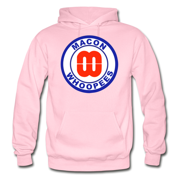 Macon Whoopees Logo Hoodie (SHL) - light pink