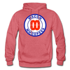 Macon Whoopees Logo Hoodie (SHL) - heather red