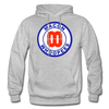 Macon Whoopees Logo Hoodie (SHL) - heather gray