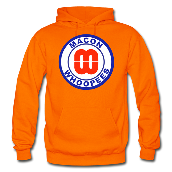 Macon Whoopees Logo Hoodie (SHL) - orange