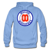 Macon Whoopees Logo Hoodie (SHL) - carolina blue