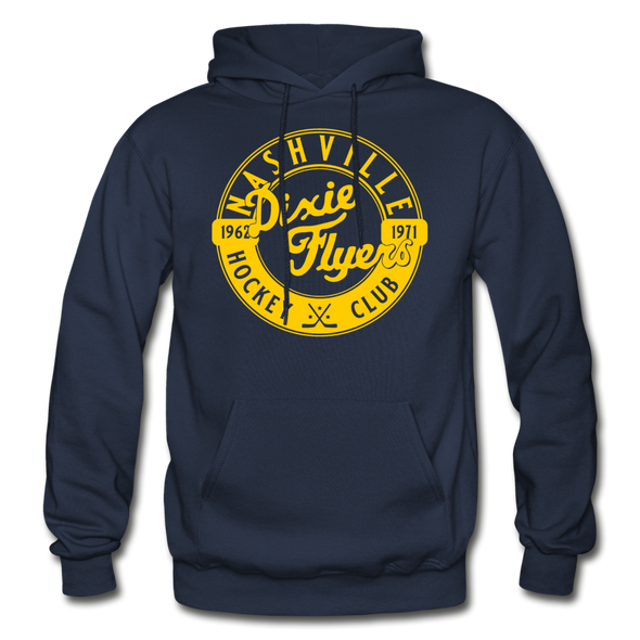 Nashville Dixie Flyers Circular Dated Hoodie - navy
