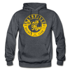 Nashville Dixie Flyers Circular Dated Hoodie - charcoal gray