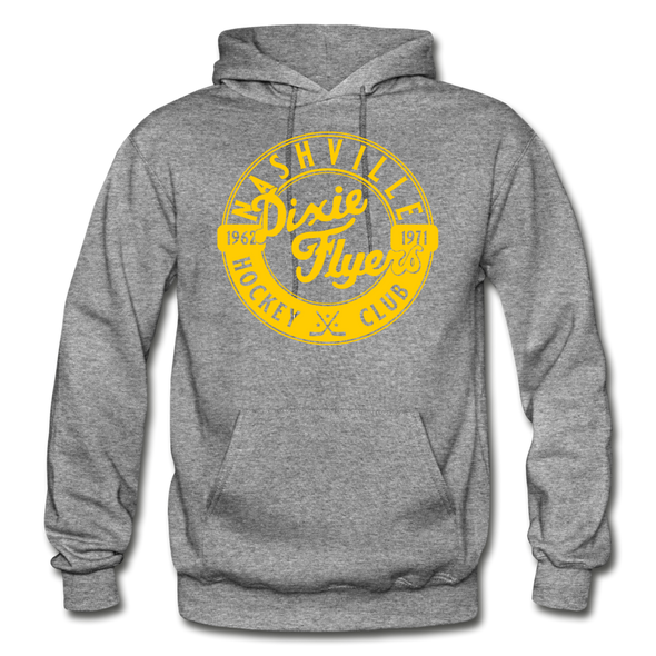 Nashville Dixie Flyers Circular Dated Hoodie - graphite heather