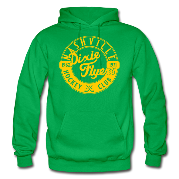 Nashville Dixie Flyers Circular Dated Hoodie - kelly green
