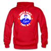 Troy Uncle Sam's Trojans Logo Hoodie (EHL) - red