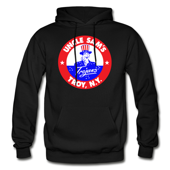 Troy Uncle Sam's Trojans Logo Hoodie (EHL) - black