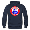 Troy Uncle Sam's Trojans Logo Hoodie (EHL) - navy