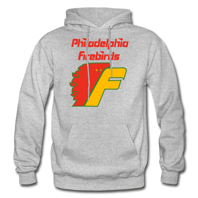 Philadelphia Firebirds Logo Hoodie (NAHL) - heather gray