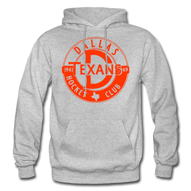Dallas Texans Circular Dated Hoodie - heather gray