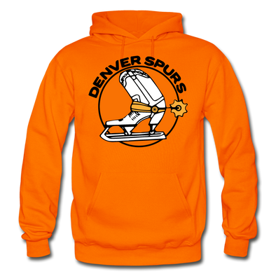Denver Spurs Logo Hoodie (WHA & CHL) - orange