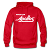 Houston Apollos White Logo Hoodie (CHL) - red