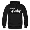 Houston Apollos White Logo Hoodie (CHL) - black