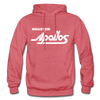Houston Apollos White Logo Hoodie (CHL) - heather red
