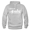 Houston Apollos White Logo Hoodie (CHL) - heather gray