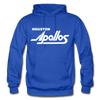 Houston Apollos White Logo Hoodie (CHL) - royal blue