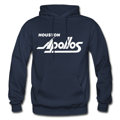 Houston Apollos White Logo Hoodie (CHL) - navy