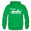 Houston Apollos White Logo Hoodie (CHL) - kelly green
