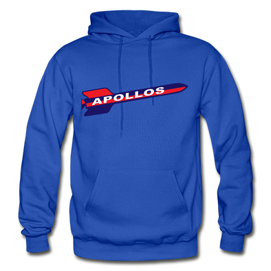 Houston Apollos Rocket Logo Hoodie (CHL) - royal blue