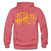 Huntington Hornets Hoodie - heather red