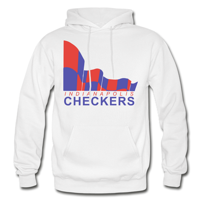 Indianapolis Checkers Hoodie (CHL) - white