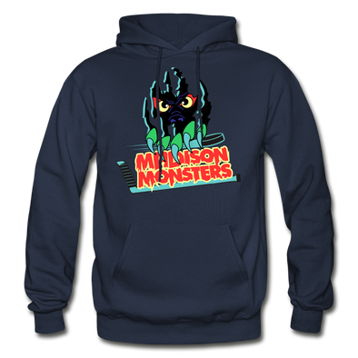 Madison Monsters Logo Hoodie - navy