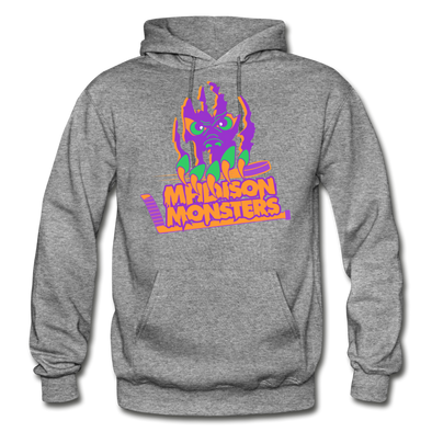 Madison Monsters Halloween Hoodie - graphite heather