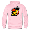 Michigan Stags Logo Hoodie (WHA) - light pink