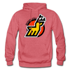 Michigan Stags Logo Hoodie (WHA) - heather red