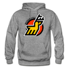 Michigan Stags Logo Hoodie (WHA) - graphite heather