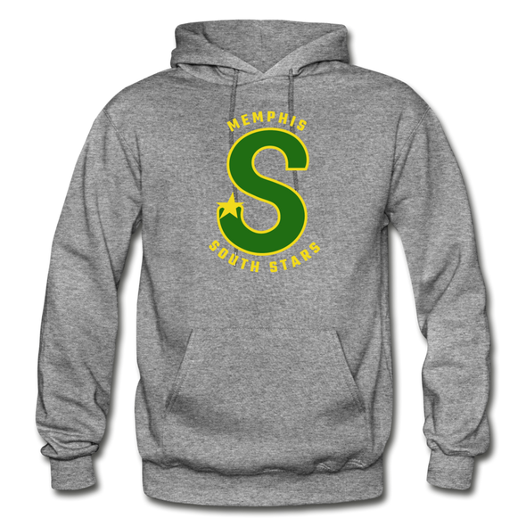 Memphis South Stars Hoodie (CHL) - graphite heather