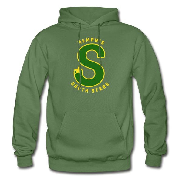 Memphis South Stars Hoodie (CHL) - military green