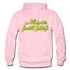 Nashville South Stars Text Logo Hoodie (CHL) - light pink
