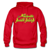 Nashville South Stars Text Logo Hoodie (CHL) - red