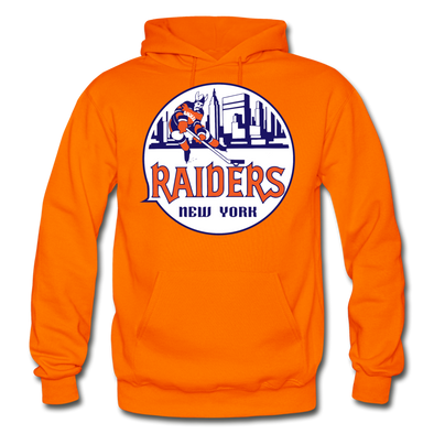 New York Raiders Logo Hoodie (WHA) - orange