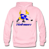 Phoenix Roadrunners Text Logo Hoodie (WHA & CHL) - light pink