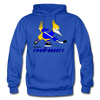 Phoenix Roadrunners Text Logo Hoodie (WHA & CHL) - royal blue