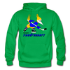 Phoenix Roadrunners Text Logo Hoodie (WHA & CHL) - kelly green