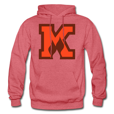 Omaha Knights K Logo Hoodie (CHL) - heather red