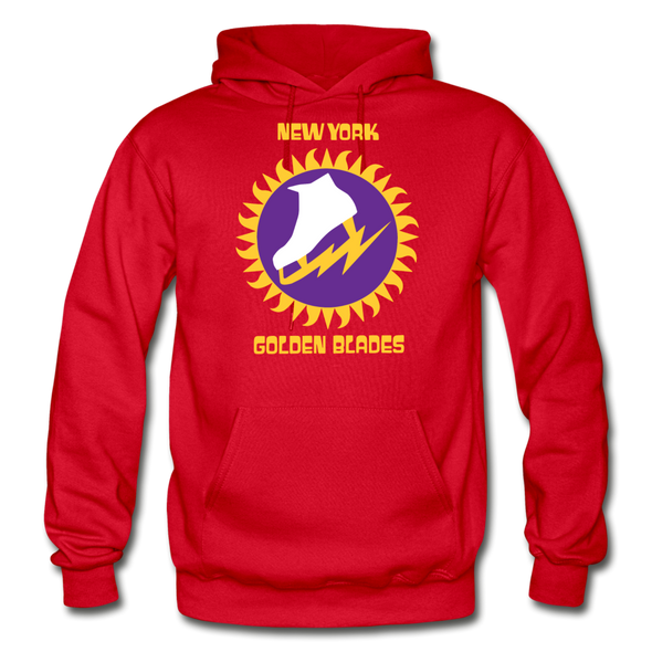 New York Golden Blades Logo Hoodie (WHA) - red